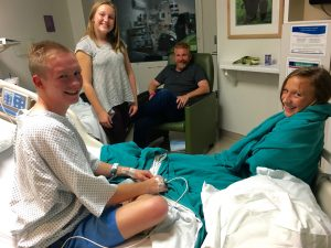 SPENCER UPDATE – OUT OF ICU